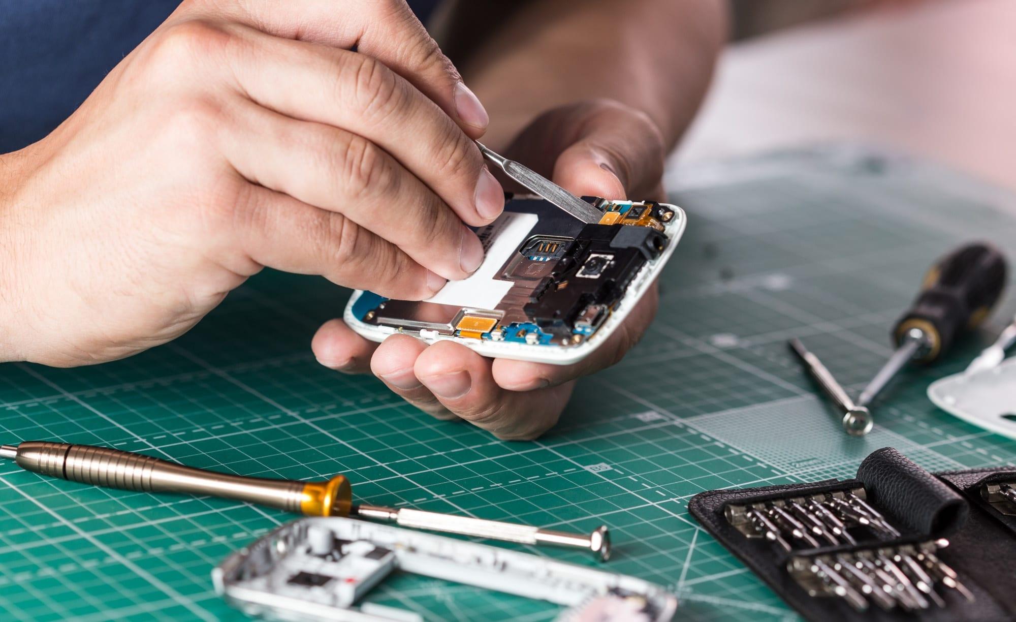 ремонт сотового телефона